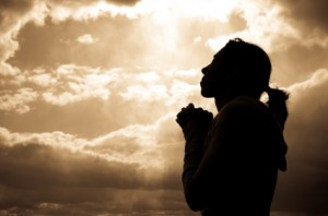 Woman Praying Picture A